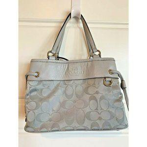 Coach Signature Nylon Mini Purse Bag Crossbody